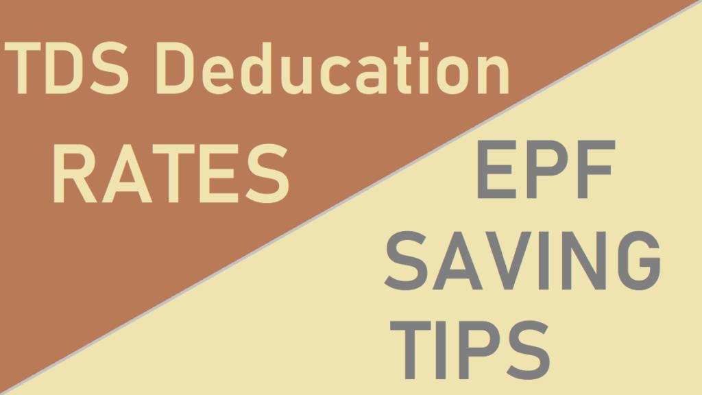 TDS Deduction