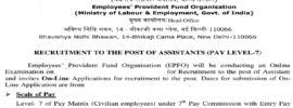 EPFO Assistant
